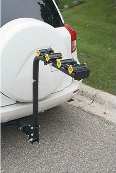 Heavy Duty 4 or 2 Bicycle Bike Rack Hitch Mount Carrier Car Swing Down 2quot; receiv $82.99