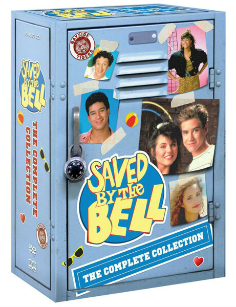 Saved By The Bell: The Complete Collection DVD 2018 16 Disc Box Set $32.00
