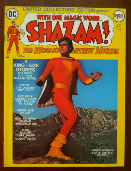 DC Limited Collectors Edition Shazam Treasury C 35 Photo Cover Captain Marvel