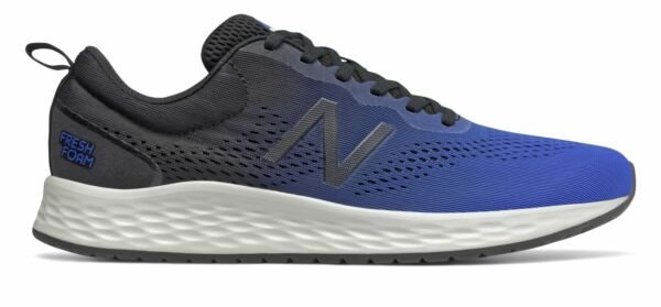 New Balance Men#x27;s Fresh Foam Arishi v3 Shoes Blue with Black $48.82