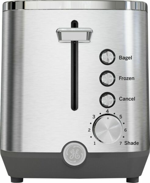 GE 2 Slice Toaster Stainless Steel