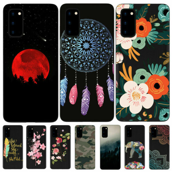 For Samsung Galaxy S20 FE 5G 4G Matte Flexible Painted TPU Pattern Cover Case $7.91