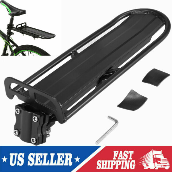 US Bicycle Mountain Rear Rack Seat Post Mounted Pannier Luggage Carrier Bag B0P3 $16.42