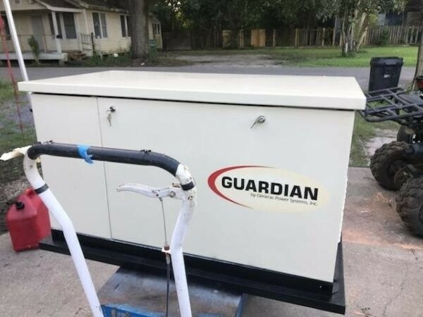 Used Guardian 13k Watt Standby Generator LOCAL PICKUP ONLY W IN 100 MILES