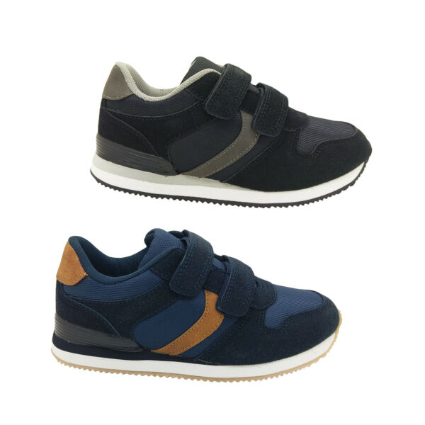 Grosby Tommy Boys Retro Fashion Sneaker Hook and Loop Lightweight Size 10 3 AU $54.95