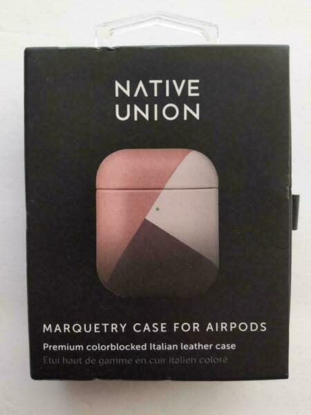 Native Union Marquetry Case For Apple Airpods Rose
