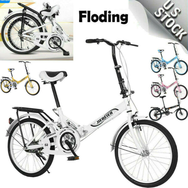 20quot; 7 Speed City Folding Mini Compact Bike Bicycle Commuter Portable Cycling $137.99