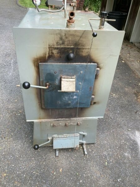 Wood coal boiler indoor outdoor 180000 BTU Alternate Heating Systems model C55 $2300.00