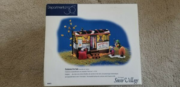 Department 56 Costumes for Sale #54973 RETIRED COMPLETE $26.99