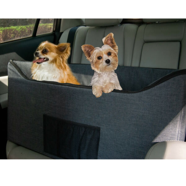 Lookout Dog Booster Seat for Dogs Elevated Pet Bed for Cars 2 Styles $49.99