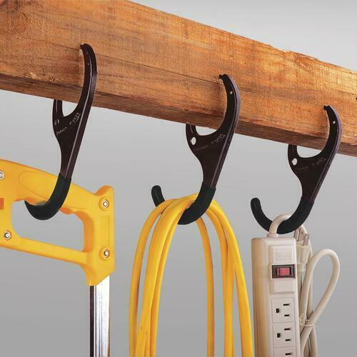 Tool Shop 7quot; Self Gripping Garage Bike Hanger 4 Piece Holds Up To 110 Pounds. $16.98