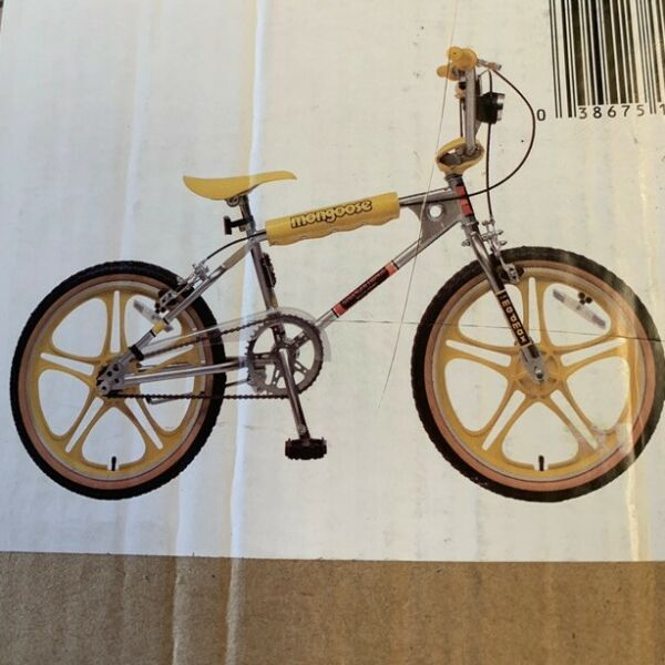 "Mongoose Stranger Things BMX 20"" Bike New In Box $420.00"
