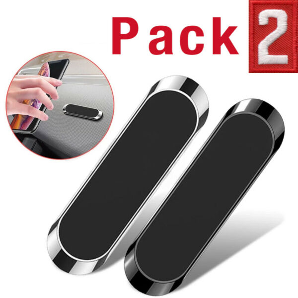 2 Pack Magnetic Phone Holder Car Dashboard Mount Stand For Samsung Galaxy iPhone $5.99