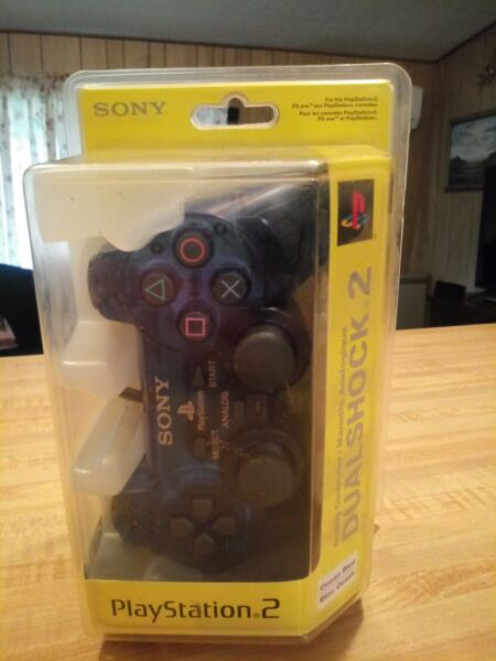 Sony Playstation DualShock 2 Ocean Blue Controller BRAND NEW AND STILL SEALED $60.00