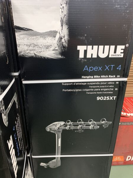 THULE APEX XT4 4 BIKE HITCH MOUNT RACK BRAND NEW $369.99