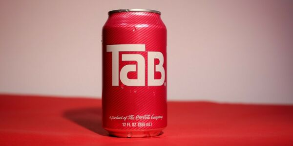 Tab Unopened Soda Can TAB Cola One 1 Single Can Brand New