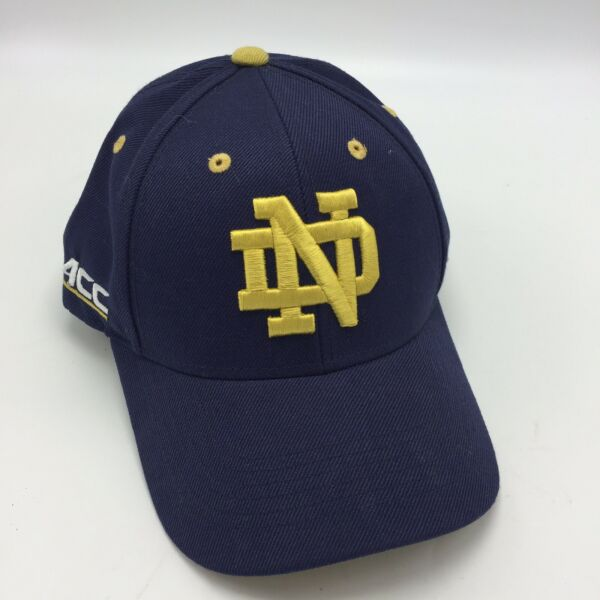 Notre Dame Top Of The World Hat Blue Gold Embroidered OSFA $9.99