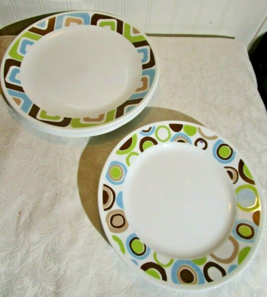 SQUARED and ROLA by CORNING Plate Set 12 Pcs Corelle LOT RC