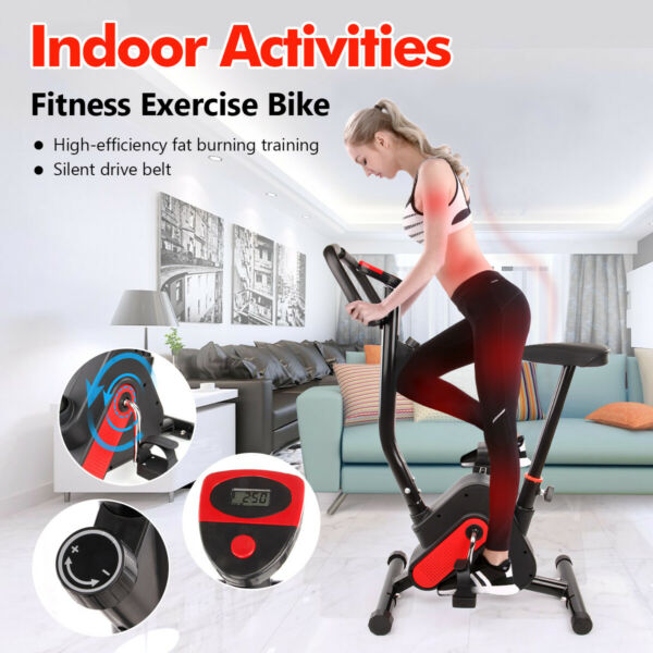 Bicycle Cycling Fitness Gym Exercise Stationary Bike Cardio Workout Indoor USA $108.92