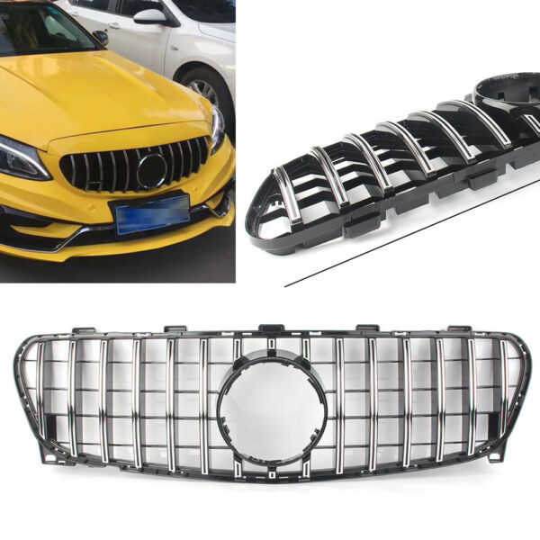 GLA Class GT R Front Grill X156 Grille For Mercedes BenzGLA200 GLA250 2017 2018
