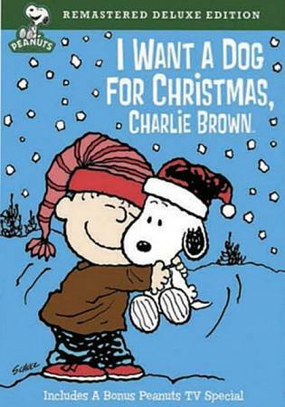 I Want a Dog for Christmas Charlie Brown DVD 2009 Deluxe Edition $8.00