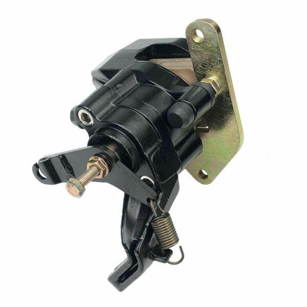 Rear Brake Caliper Assembly For Yamaha Warrior 350 YFM350X 1987 2004 with Pads