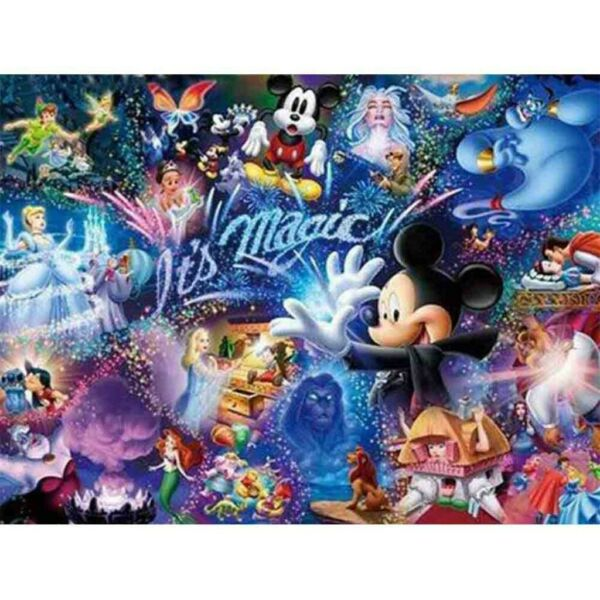 5D Mickey Mouse Full Drill DIY Diamond Painting Home Decors Embroidery Kits Art $11.99