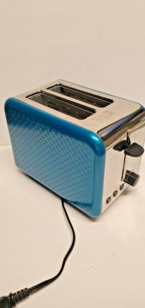 Bella quot;DOTSquot; Sensio Electric 2 Slice Toaster in Blue amp; Chrome Model KT 3280