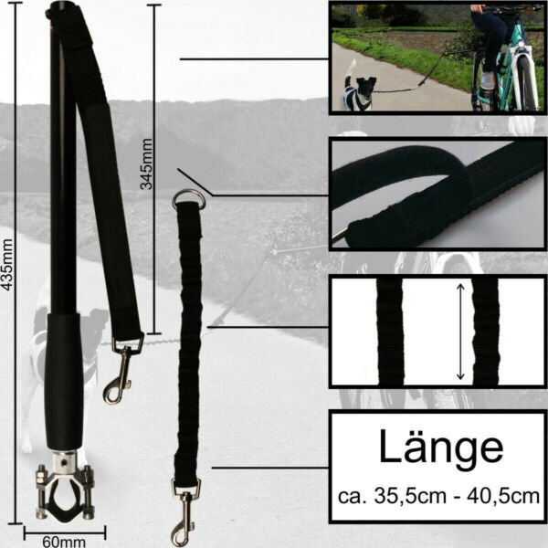 Pet Bicycle Exerciser Ride Training Leash Hands free Dog Bike Distance Keeper $43.26