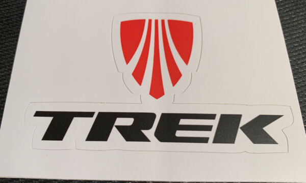 Trek Bicycle Road Bike Decal Sticker Free Shipping 3.8quot; x 2.3quot; $4.99