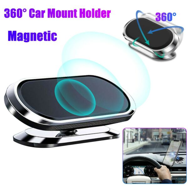 360°Magnetic Car Cell Phone Holder Dashboard Desk Mount Stand for iPhone Samsung $5.98