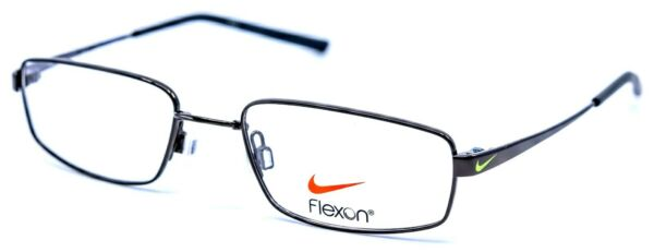NIKE with FLEXON KIDS 4632 001 Black Black Eyeglasses Frames 47 17 130