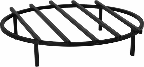 Classic Round Fire Pit Grate 24 Inch 61 cm Diameter Made in The USA