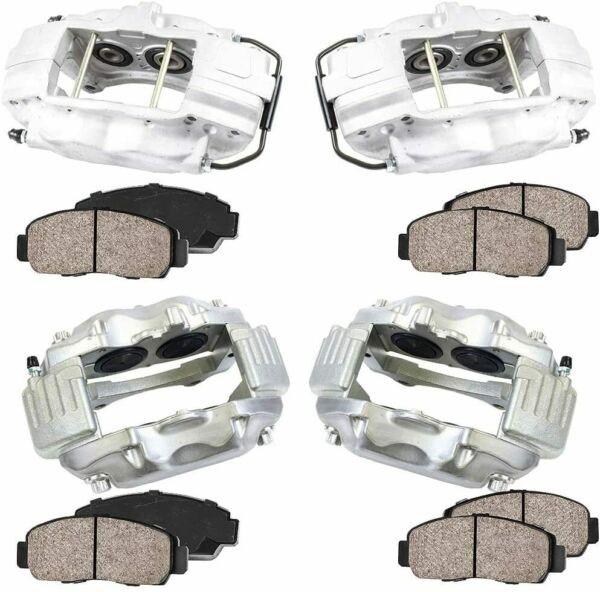 4 SRT8 Brembo Replacement Front amp; Rear Brake Calipers Dodge Challenger Charger