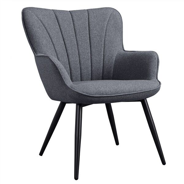 Modern Dining Chair Accent Armchair Side Chair for Living Room
