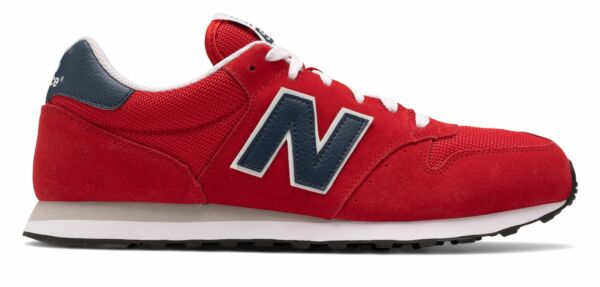 New Balance Men#x27;s 500 Classic Shoes Red $49.99