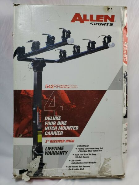 Allen Sports 4 Bike Hitch Racks for 2 in. Hitch Deluxe $80.00