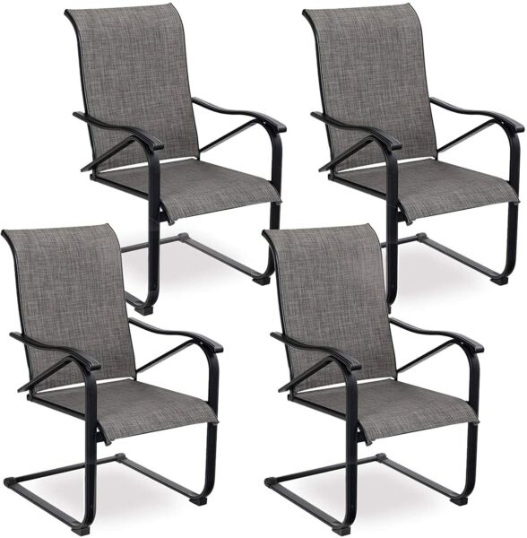 Patio Dining Chairs Set of 4 Outdoor Chairs Furniture for Lawn Garden Balcony $312.99