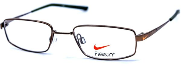 NIKE with FLEXON KIDS 4632 245 Walnut Brown Eyeglasses Frames 45 17 125