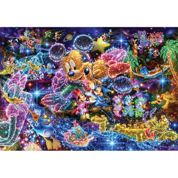Diamond Painting Full Drill DIY 5D Mickey Mouse and Donald Duck Home Decors Gift $11.99