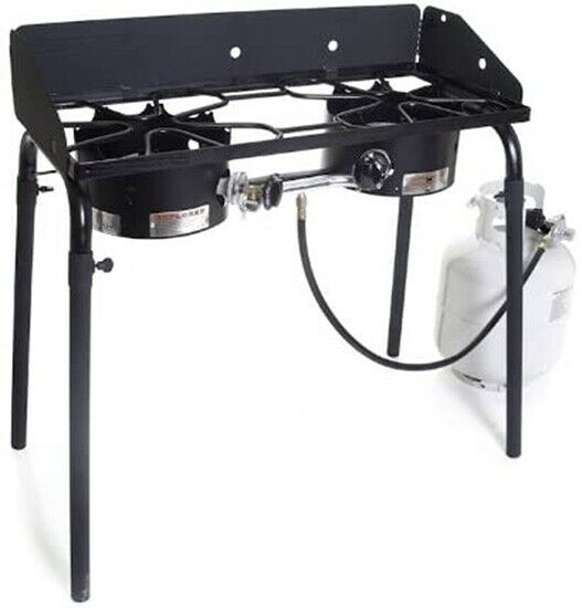 Camp Chef Explorer Double Burner Stove C24R Free Shipping