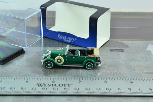 Ricko Old Timer Lincoln K Green Car 1:87 Scale HO
