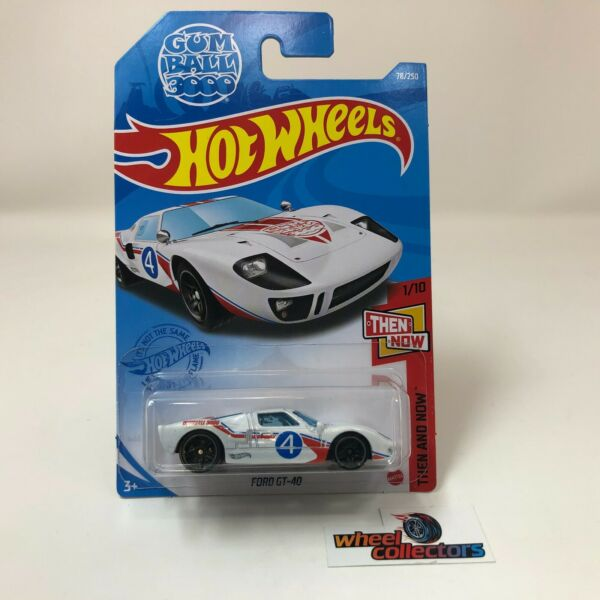 Ford GT40 #78 Gumball 3000 * WHITE * 2021 Hot Wheels Case C * B11 $5.99