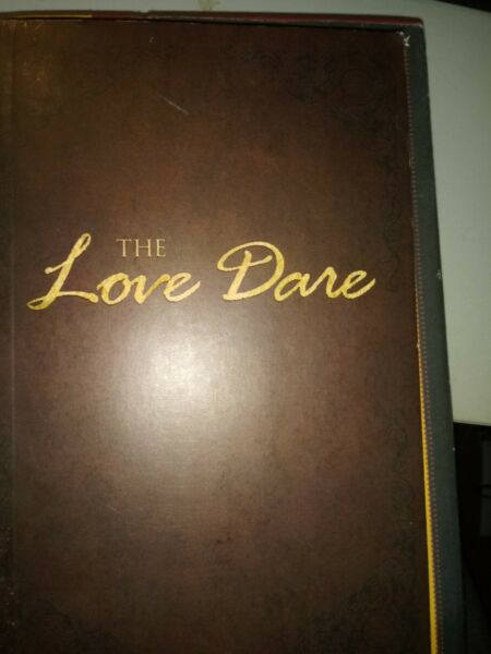 The Love Dare by Stephen amp; Alex Kendrick paperback