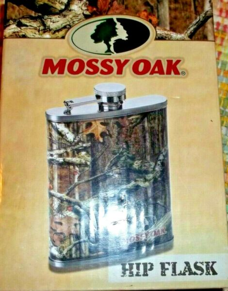 Mossy Oak Liquor HIP Flask CAMO for Hunting Redneck or Country Party Men amp; Women