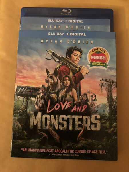 Love And Monsters Blu Ray With Slipcover. No Digital 2021 free shipping $12.75