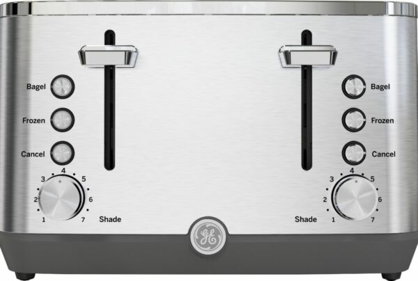 GE 4 Slice Toaster Stainless Steel
