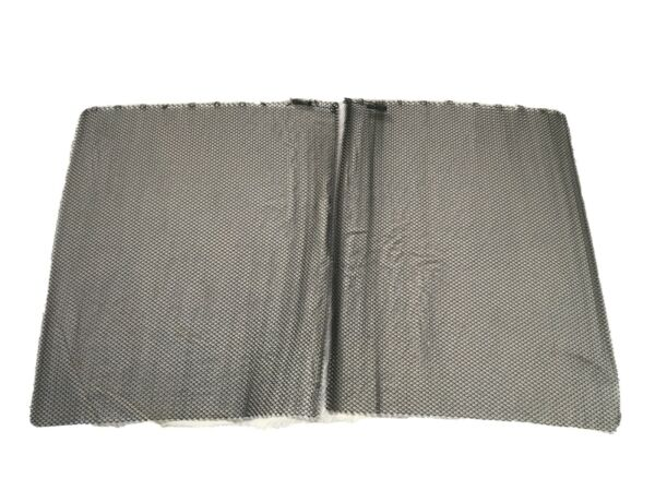 Mesh Fireplace Screen 29x24 Set Of Two =29x48. 13 Rings Per Curtain