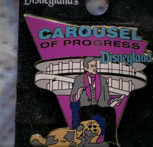 CAROUSEL OF PROGRESS PIN 1998 DISNEYLAND ATTRACTION SERIES