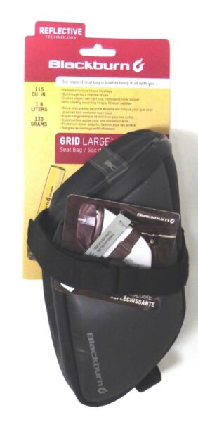 Blackburn Grid Large Seat Bag Reflective $27.95